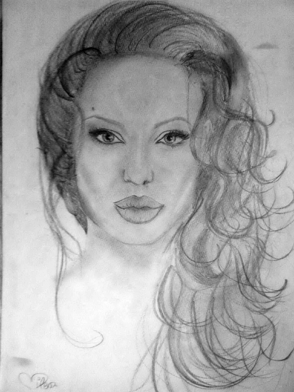Angelina Jolie by MilENA